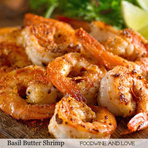 Basil and Butter Shrimp
