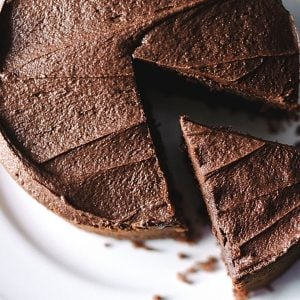 Delicious Chocolate Cake For Two
