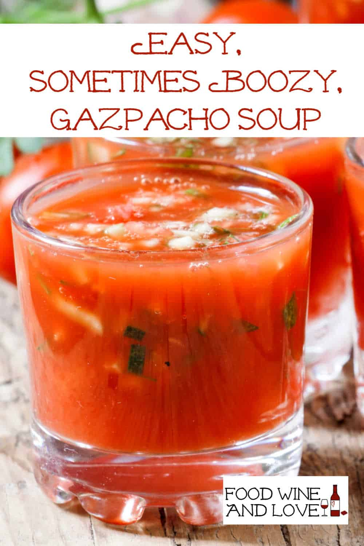 Easy Gazpacho Soup