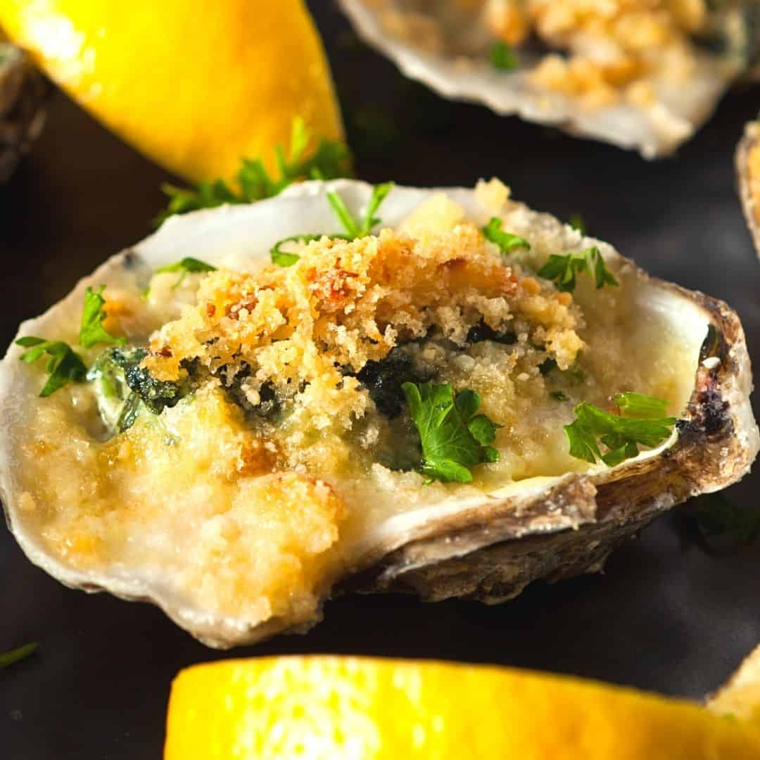 Really Simple Oysters Rockefeller