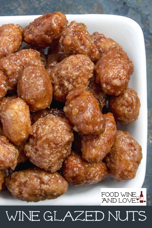 Wine Glazed Nuts Recipe