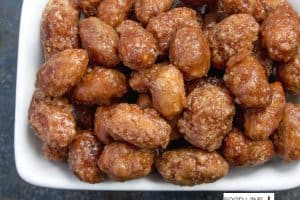 Wine Glazed Nuts Recipe