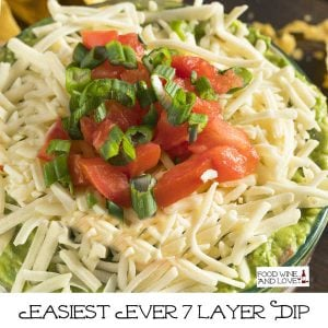 Easiest Ever 7 Layer Dip
