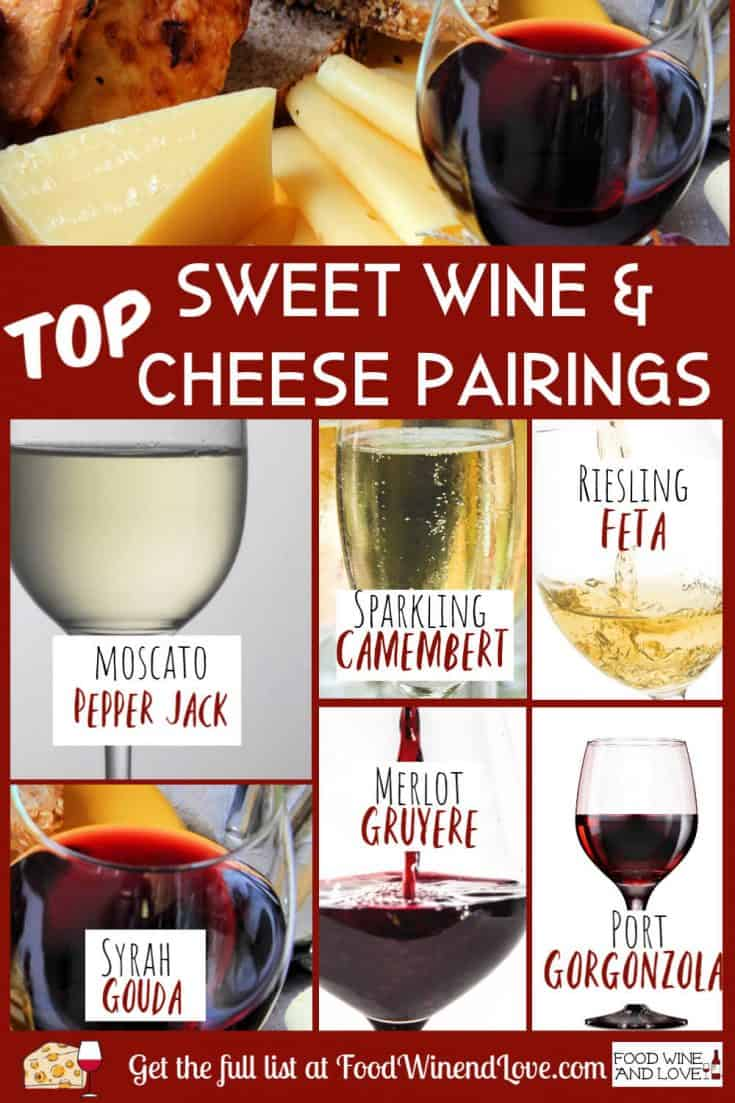 Sweet Wine Pairings With Cheese #wine #sweet #cheese #pairings #party #diy