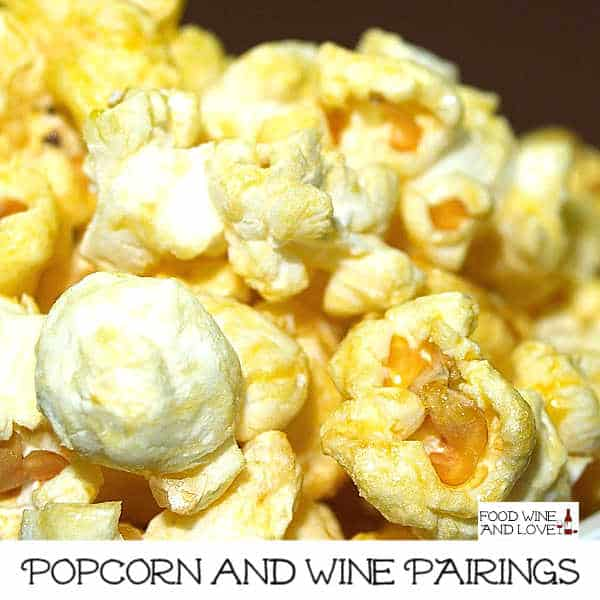 Popcorn and Wine Pairings