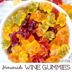 Homemade Wine Gummies