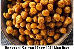 Easy Roasted Salted Chickpeas