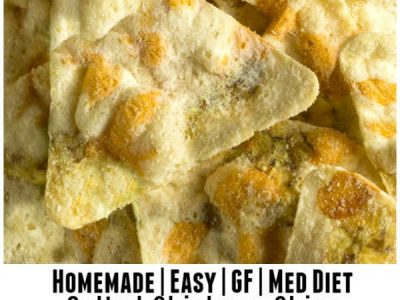 Easy Salted Chickpea Chips