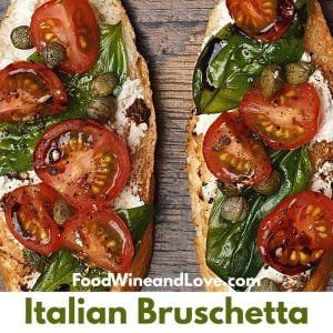 The Best Easy Italian Bruschetta