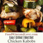 Easy Mediterranean Chicken Kabobs