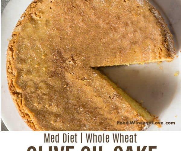 Mediterranean Diet Friendly Cake