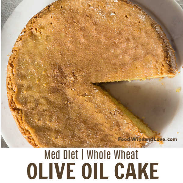 Mediterranean Diet Friendly Cake
