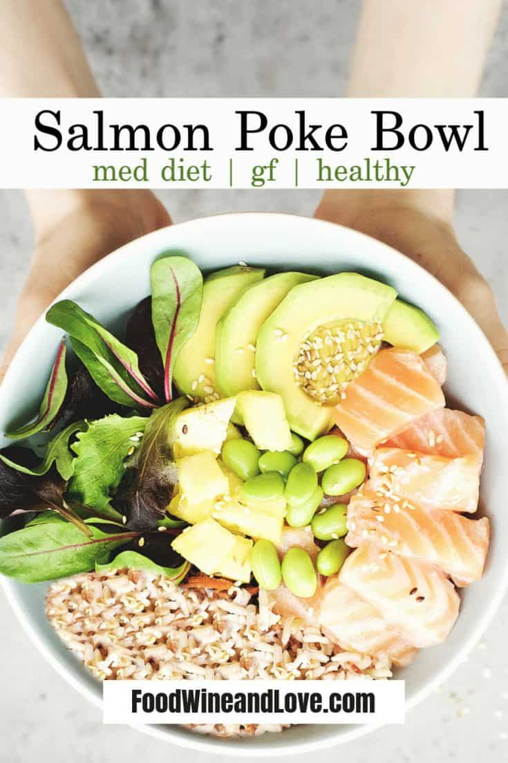 How to Make a Salmon Poke Bowl a delicious and healthy meal in a bowl #salmon #poke #bowl #recipe #easy #diy #homemade #Hawaiian