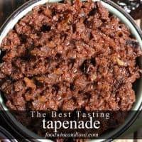 The Best Tasting Tapenade