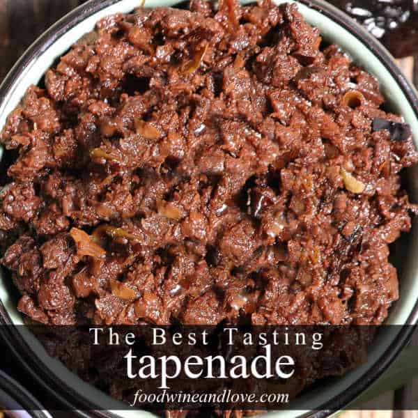 The Best Tasting Tapenade