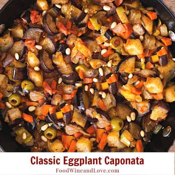 Classic Eggplant Caponata