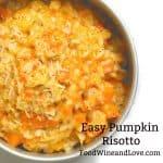 Easy Pumpkin Risotto