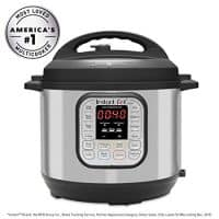 Instant Pot  Multi-Use Programmable Pressure Cooker, Slow Cooker, Rice Cooker, Steamer,and so much more!