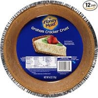 Honey Maid Graham Cracker Pie Crust, 6 Ounce, (Pack of 12)