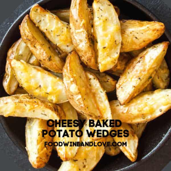 Cheesy Baked Potato Wedges