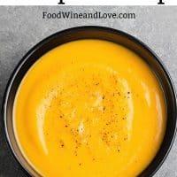 Blender Pumpkin Soup