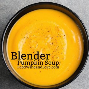 Blender Pumpkin Soup