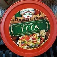 Stella Crumbled Feta Cheese 16oz (pack of 2)
