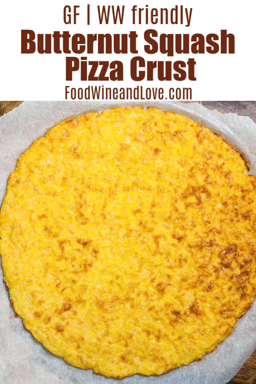 Gluten Free Butternut Squash Pizza Crust