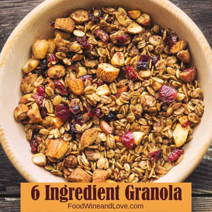 6 Ingredient Granola