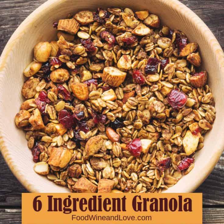 6 Ingredient Granola