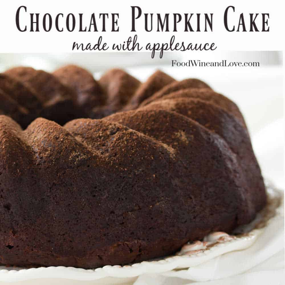 Chocolate Cake Made with Pumpkin