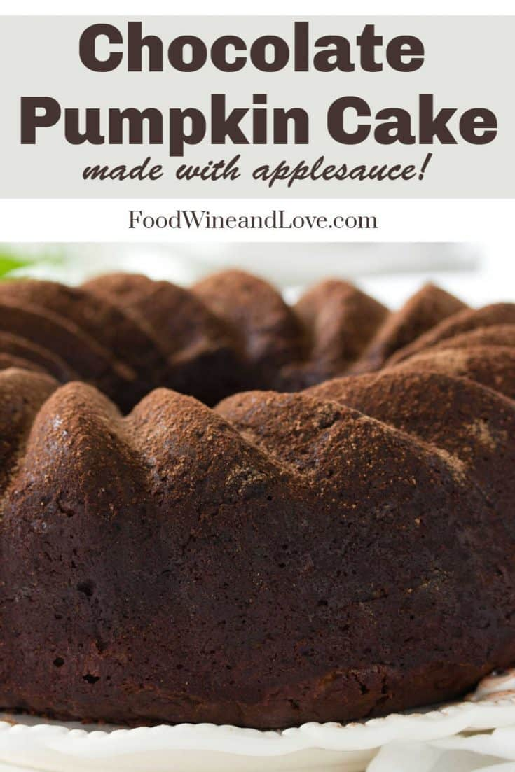 This recipe for Chocolate Cake Made with Pumpkin makes for the perfect fall or holiday dessert!