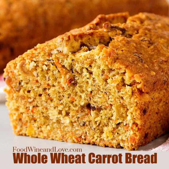 Whole Wheat Carrot Bread