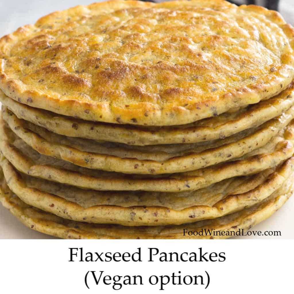 Yummy Flaxseed Pancakes