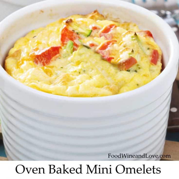 Mediterranean Diet Mini Omelets
