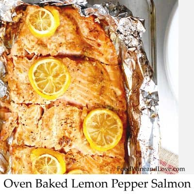 Mediterranean Diet Lemon Pepper Salmon