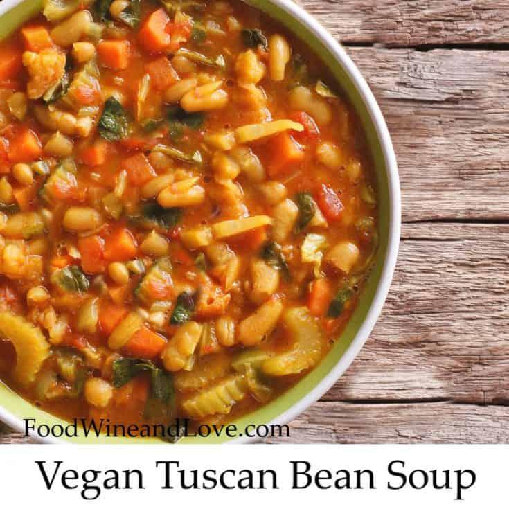 Vegan Tuscan Bean Soup