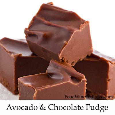 Chocolate Fudge Made With Avocado