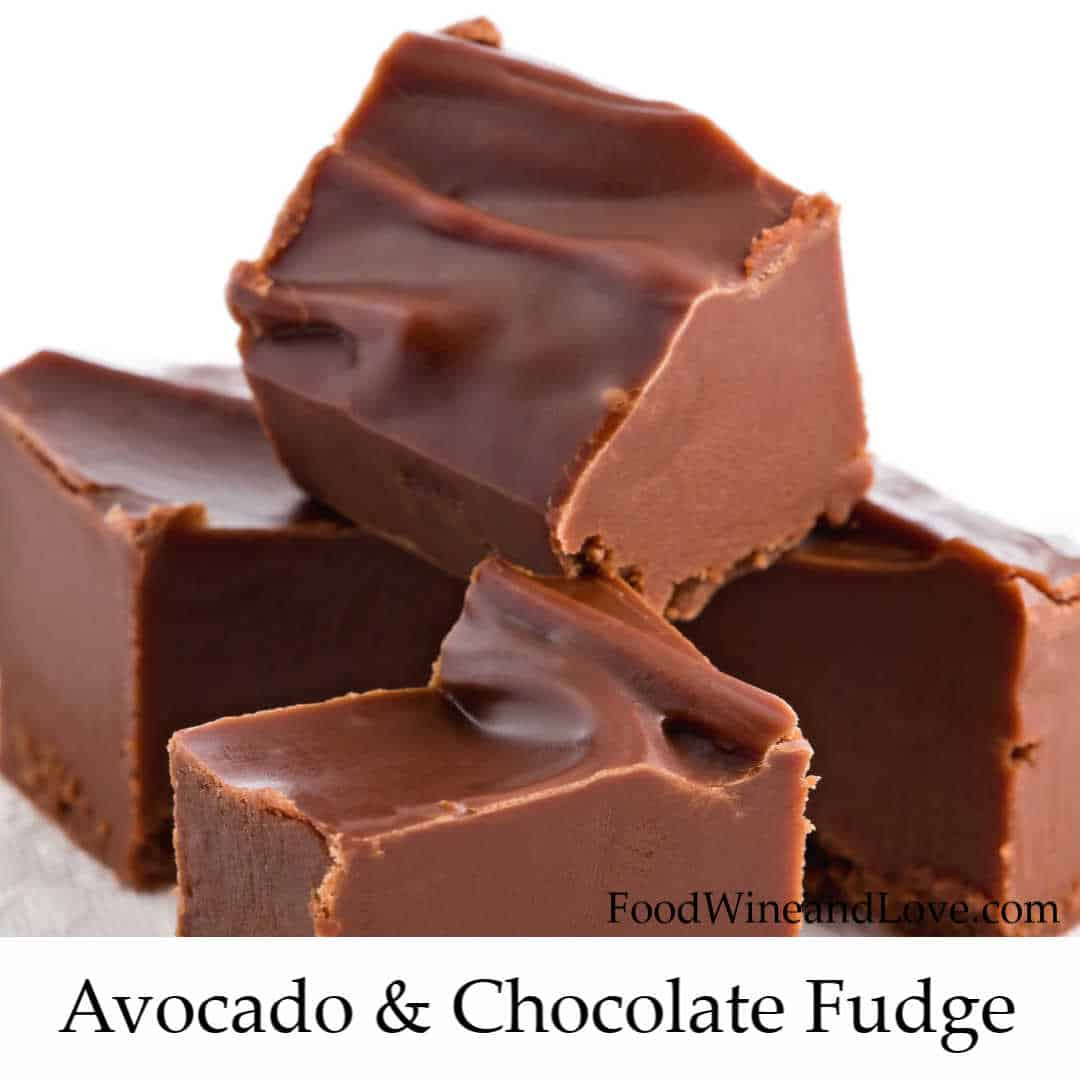 Chocolate Fudge Made With Avocado