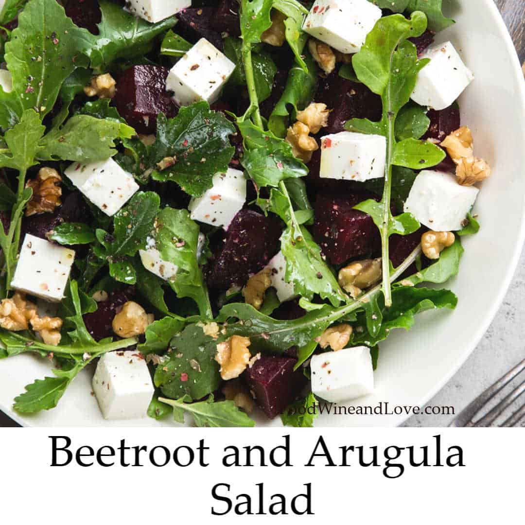 Beetroot and Arugula Salad