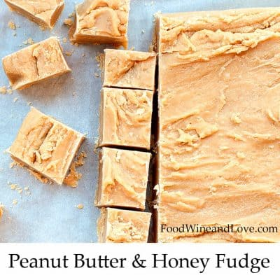 Peanut Butter and Honey Fudge