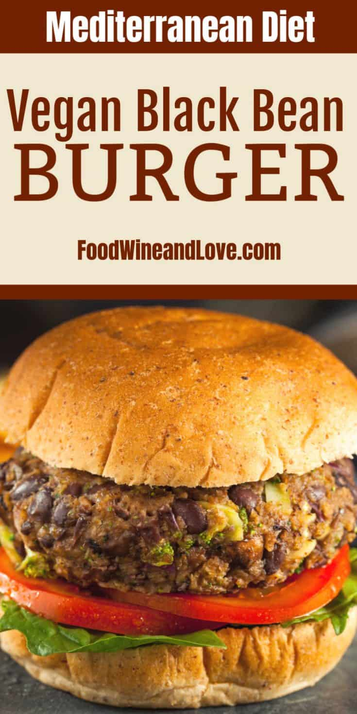 This Yummy Vegan Black Bean Burger is easy to make and is perfect for grilling, air frying, or frying.