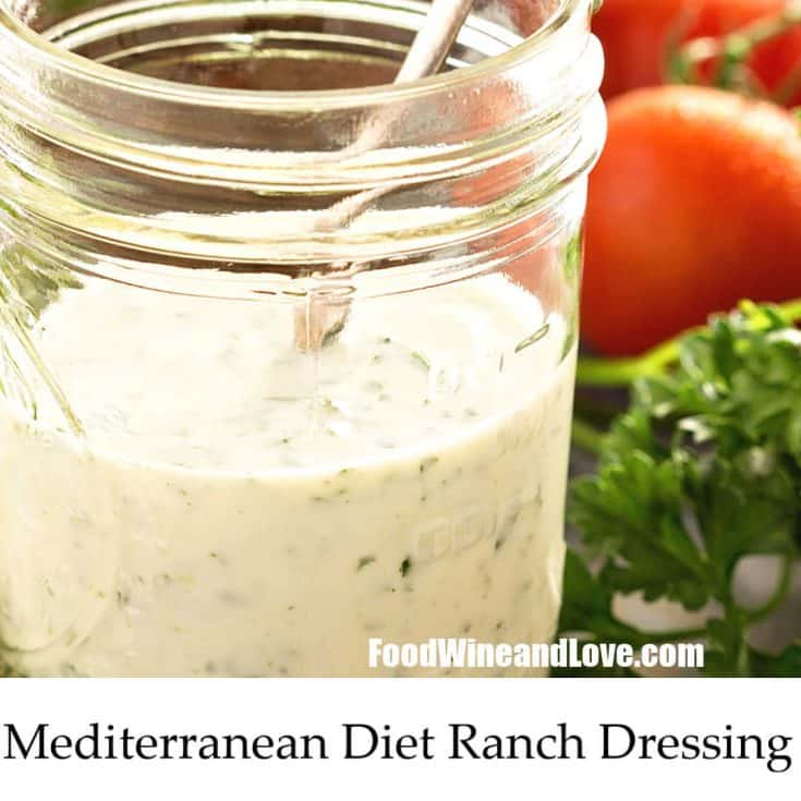 Mediterranean Diet Ranch Dressing