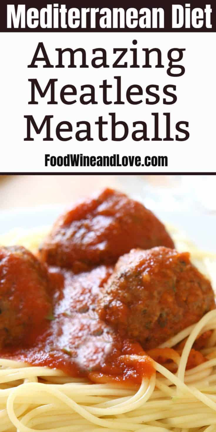 Enjoy this recipe for Yummy Meatless Meatballs with your next Italian pasta dinner or as your next great appetizer with sauce