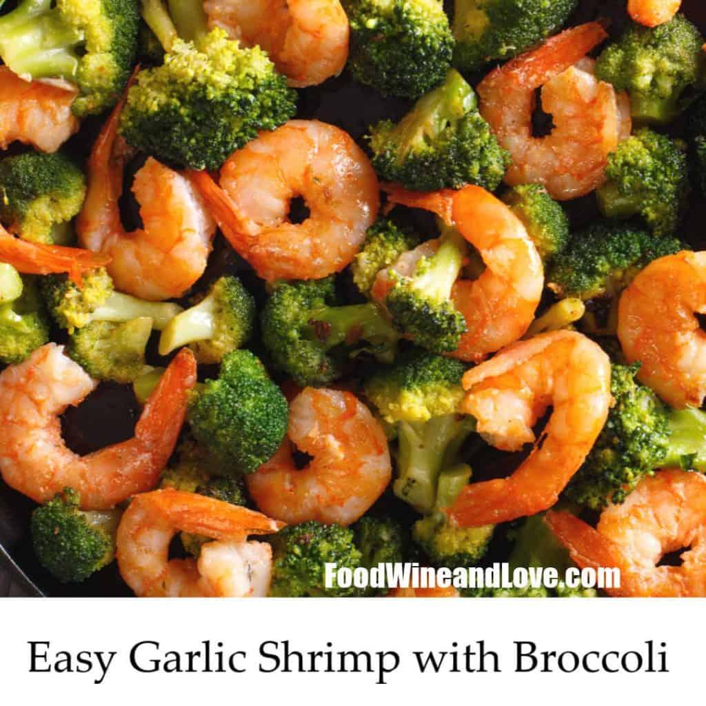 Easy Garlic Shrimp With Broccoli