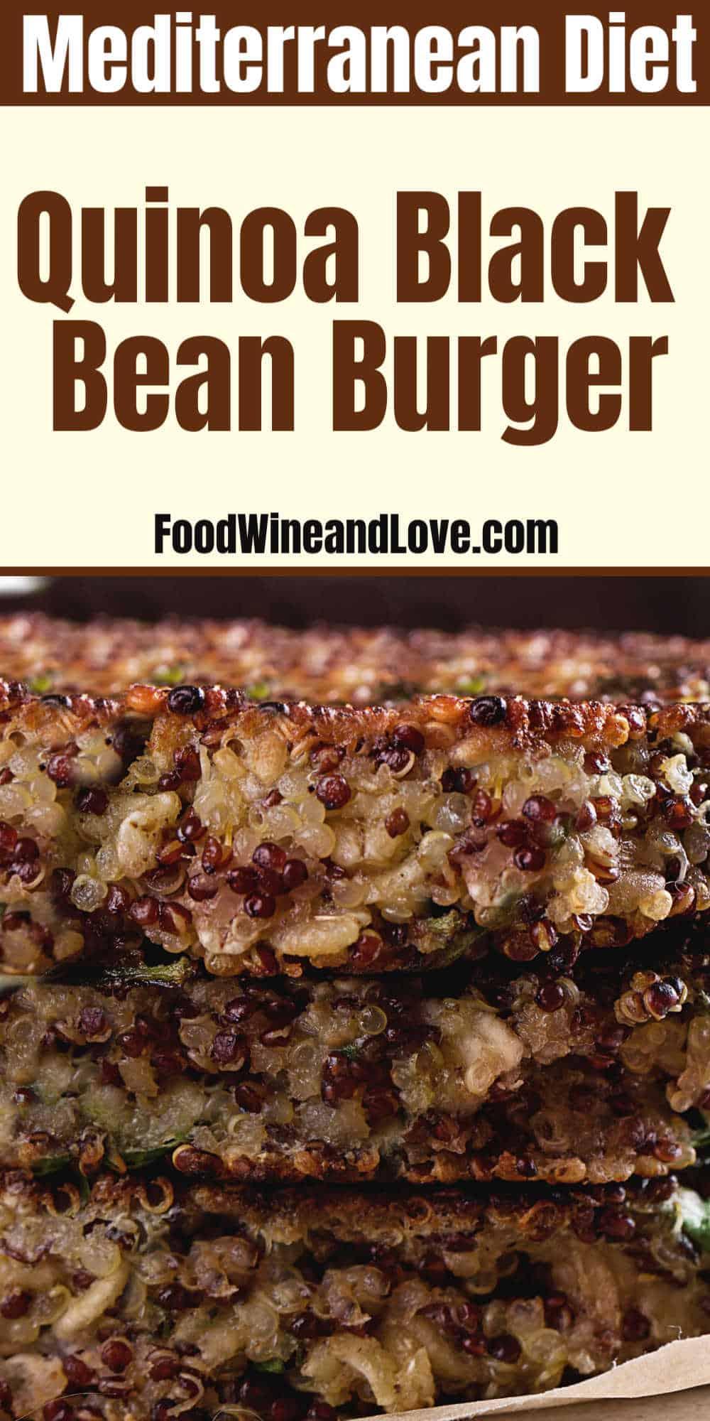 Quinoa Black Bean Burger