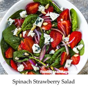 Amazing Spinach and Strawberry Salad