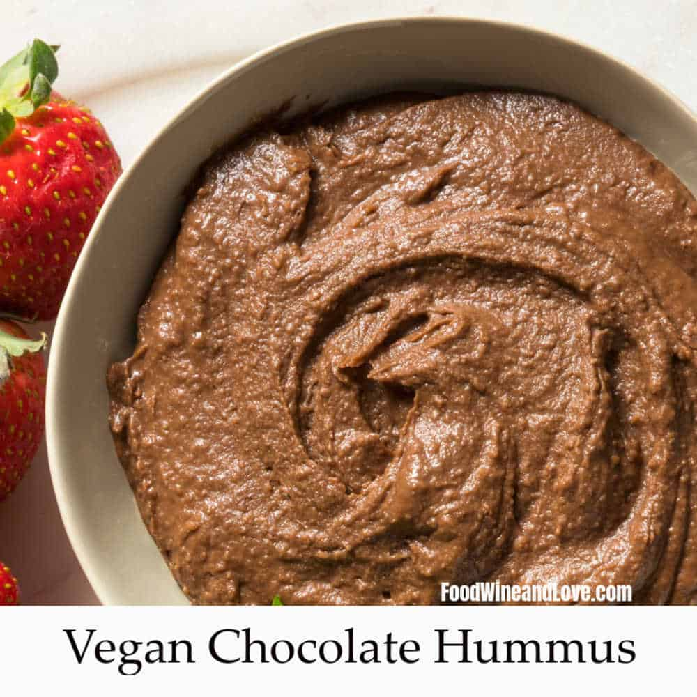 Delicious Chocolate Hummus