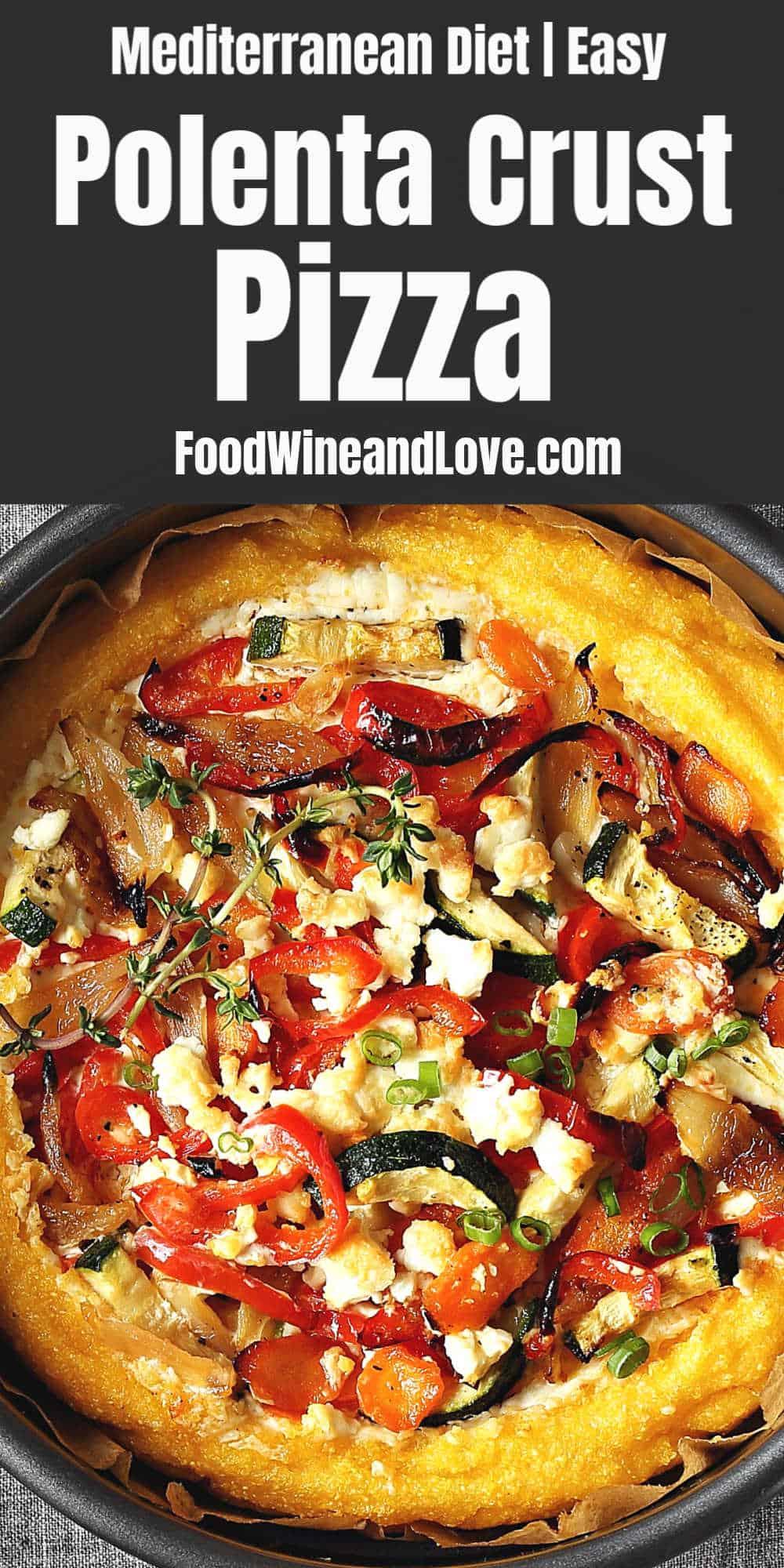 Simple Polenta Pizza