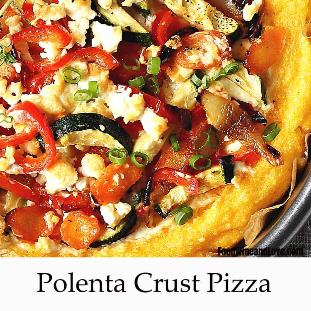 Simple Polenta Pizza
